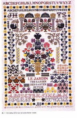 Jan Houtman Designs JH20 Garden sampler
