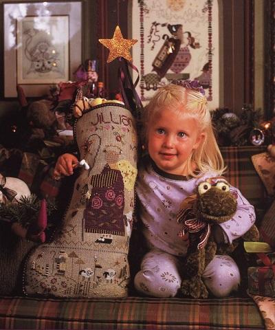 Shepherd's Bush Jillian's Stocking