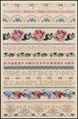 Cynthia's Sampler, JN011 by Just Nan