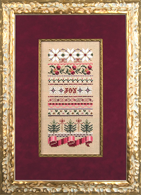 Just Nan Christmas ribbons,JN182