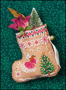 Gingerbread Fairy Mouse Stocking & Embellishments,JN313,by Just Nan