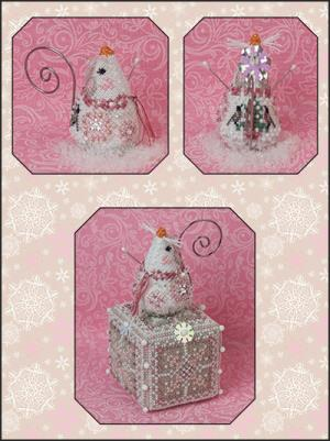 Just Nan  JNLECSM Crystal Snowlady Mouse& Embellishments Limited Edition