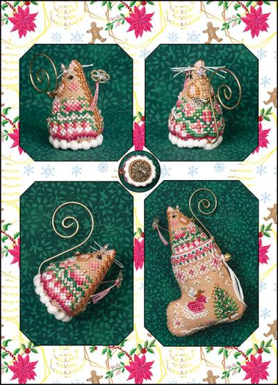 JNLESFM Sugarplum Fairy Mouse & Embellishments Limited Edition by Just Nan