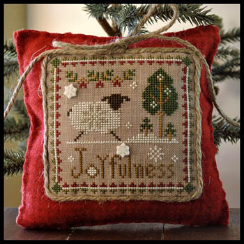 Little Sheep Virtues Joyfulness by Little House of Needleworks