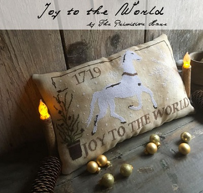 Joy to the World by Little House of Needleworks