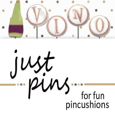 V is for Vino pin set
