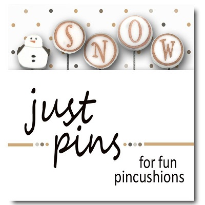 S is for Snowman pin set