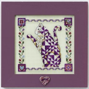 Jim Shore Petunia - Quilted Cats, JS148403
