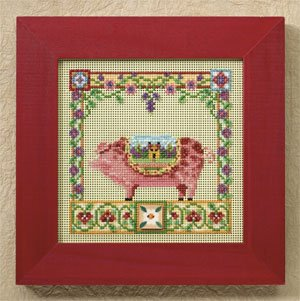 Percy Pig - Farm Animals,JS148503, by Jim Shore
