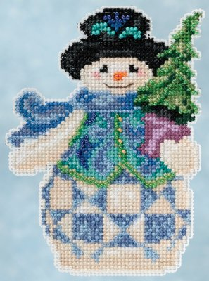 Evergreen snowman,JS205101, by Jim Shore