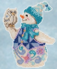 Jim Shore Snowy Owl snowman,JS20-5103