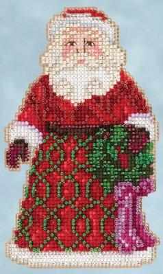 Jim Shore Greetings Santa,JS205105