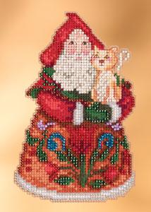 Jim Shore Purrfect Christmas Santa,JS203101