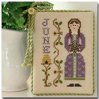 Calendar Girls-June by Little House of Needleworks