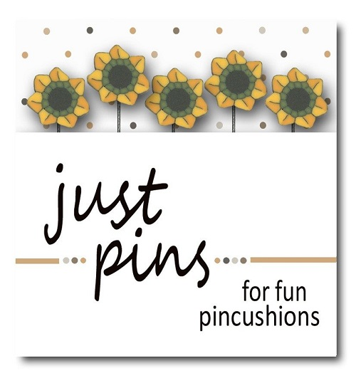 JUBCO Just sunflowers pin set