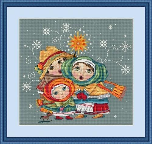 Kolyada (Christmas Carols),K-03, by Merejka
