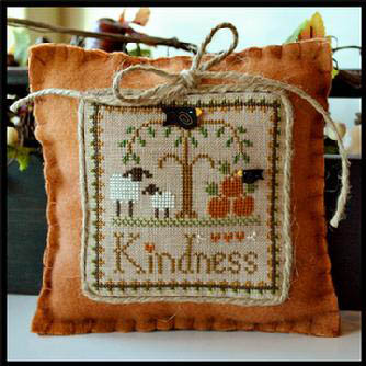 Little Sheep Virtues Kindness by Little House of Needleworks