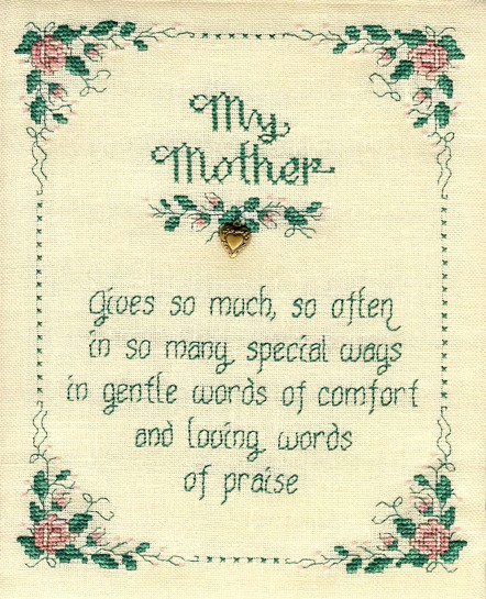 My mother by Sue Hillis Designs