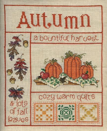 Sue Hillis Designs It's autumn