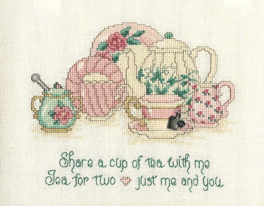 Tea for two by Sue Hillis Designs