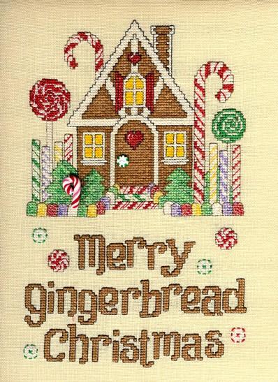 Sue Hillis Designs Gingerbread cottage
