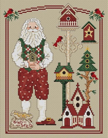 For Santa's friends by Sue Hillis Designs