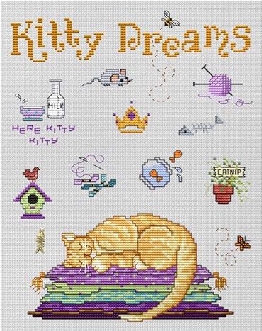 Sue Hillis Designs Kitty dreams