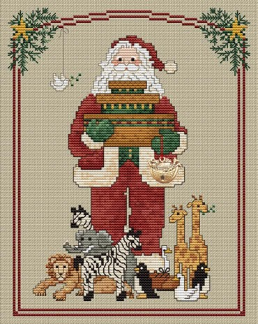 Santa's Ark by Sue Hillis Designs
