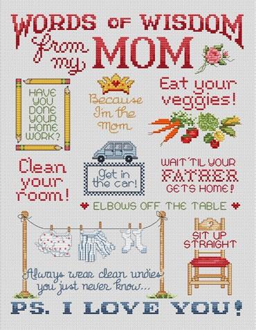 Sue Hillis Designs Love from Mom