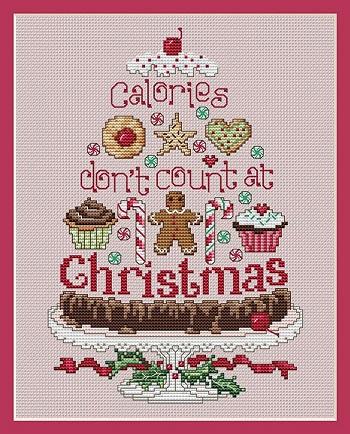 Sue Hillis Designs Christmas calories