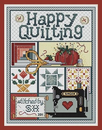 Sue Hillis Designs Happy quilting
