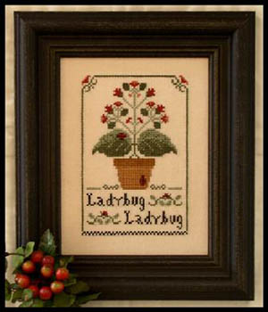 Ladybug Ladybug by Little House of Needleworks
