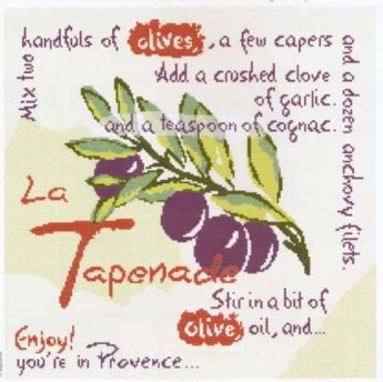 Provence recipe La Tapenade by Lili Points