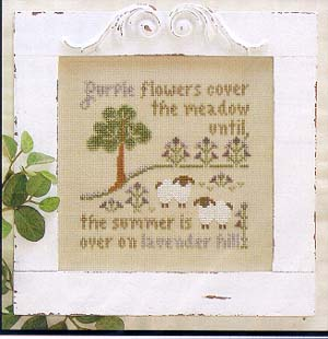 Lavender Hill by Little House Needleworks