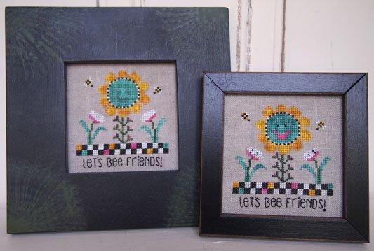 Let's bee friends by Samsarah Design Studio