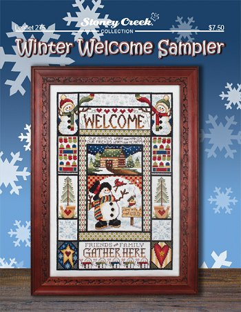 WInter welcome sampler by Stoney Creek