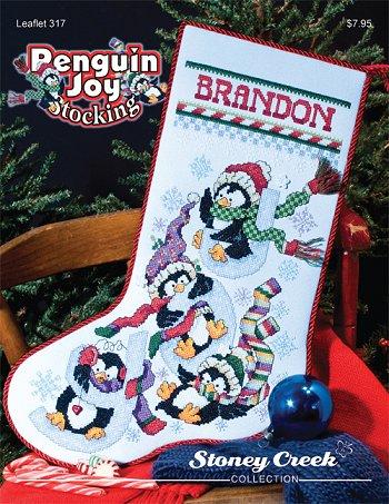Stoney Creek -317- Penguin Joy stocking