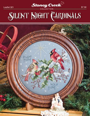 Silent night cardinals by Stoney Creek