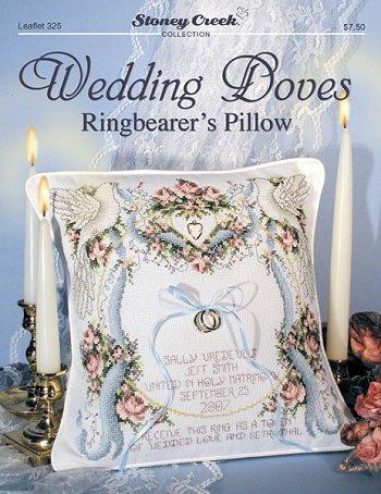 Stoney Creek -325- Wedding doves ringbearer's pillow