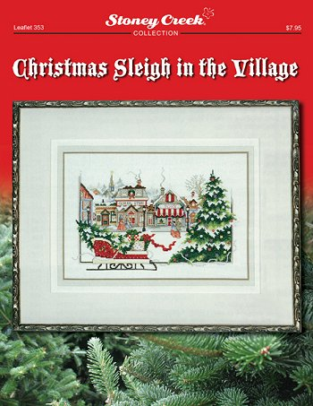 Christmas sleigh in the village by Stoney Creek