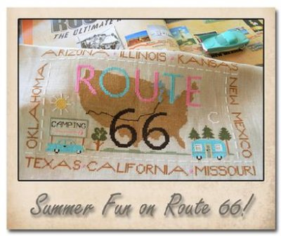 Route 66 by Little House of Needleworks