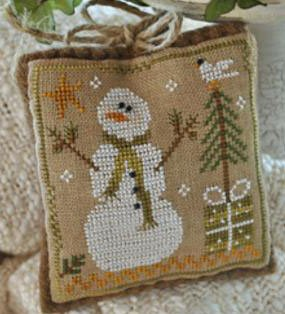 Frosty flakes by Little House needleworks