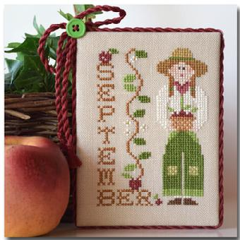Calendar Girls-September by Little House of Needleworks