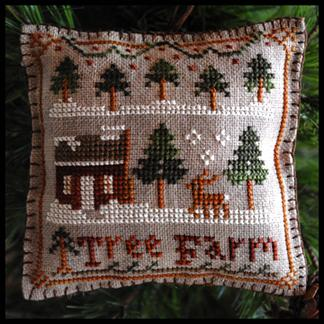 Tree farm by Little house needleworks