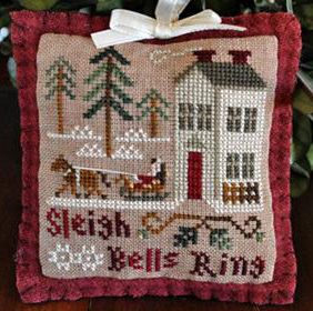Sleigh bells ring by Little House Needlework