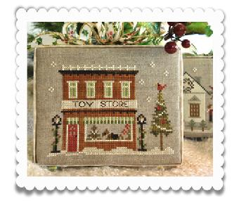 Toy store by Little House of Needlework