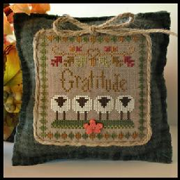 Gratitude  Little Sheep Virtue by Little House of Needlework