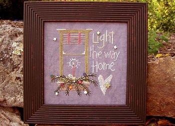 Light the way home by Samsarah Design Studio