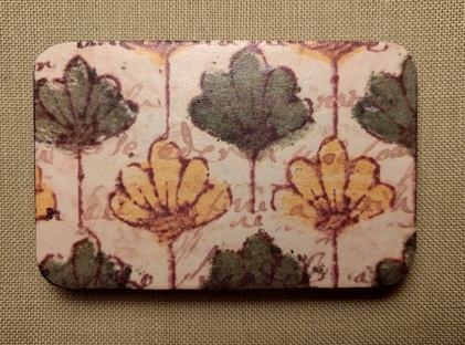 Water lilies needle box by Madame Needle