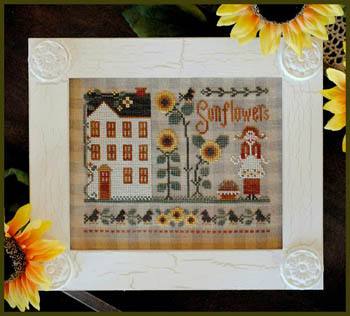 Little miss Sunflower by  Little House Needleworks